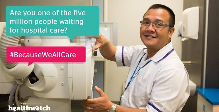 Hospital waiting times Healthwatch Greenwich