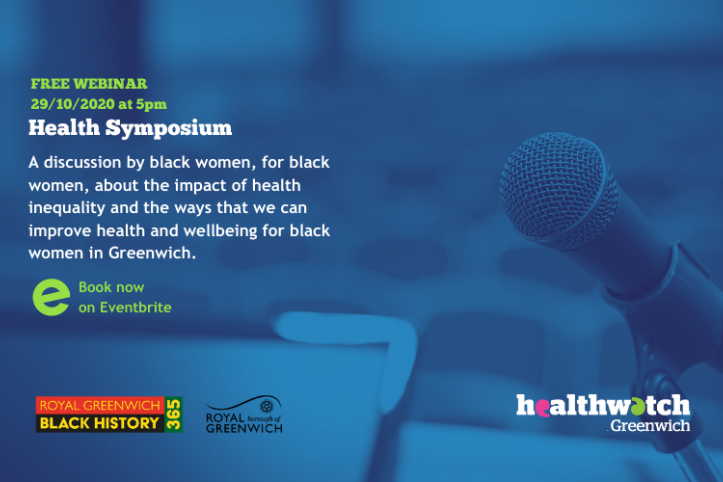 Health Symposium flyer