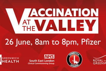 Vaccination at the Valley event 26 June 2021