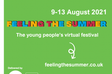 Feeling The Summer Virtual Festival for young people