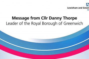 Cllr Danny Thorpe, Leader of the Royal Borough of Greenwich, talks about his treatment at UHL