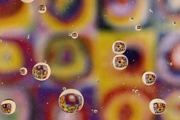 colourful photograph of bubbles