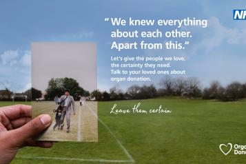Organ Donor Campaign by NHS England