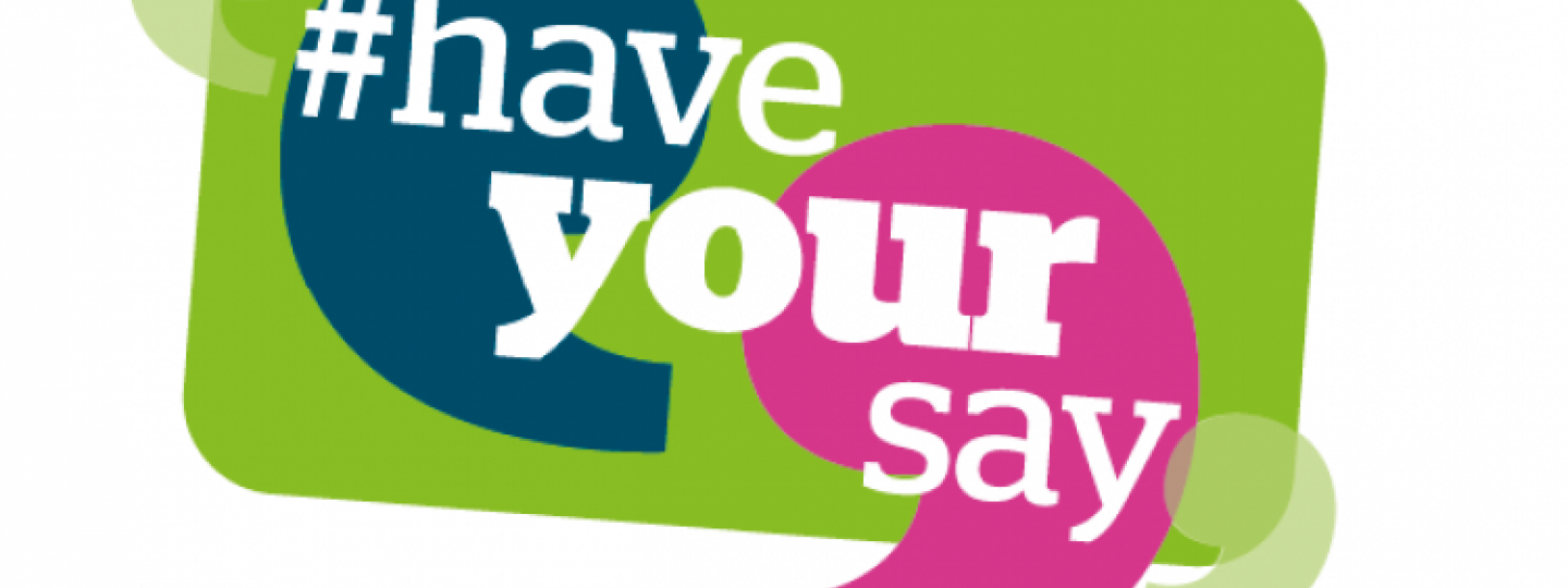 """Healthwatch """"Have your say"""" graphic"""